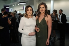 Press Eye - Belfast - 7th December 2017 -   Michaela McMahon and Claire McAtamney pictured at the UTV Business Eye Awards in association with Emirates at the Belfast Waterfront.  Photo by Kelvin Boyes / Press Eye
