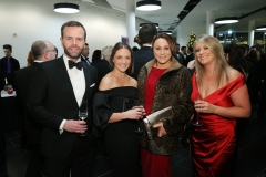 Press Eye - Belfast - 7th December 2017 -   Darren Jackson, Jenny Young, Claire Ferris and Kerri Beattie pictured at the UTV Business Eye Awards in association with Emirates at the Belfast Waterfront.  Photo by Kelvin Boyes / Press Eye