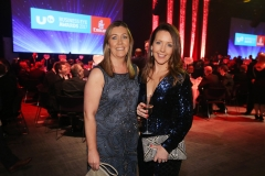 Press Eye - Belfast - 7th December 2017 -   Bronagh Luke and Bronagh Henderson pictured at the UTV Business Eye Awards in association with Emirates at the Belfast Waterfront.  Photo by Kelvin Boyes / Press Eye