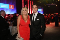 Press Eye - Belfast - 7th December 2017 -   Tanya Martin and Paul Martin pictured at the UTV Business Eye Awards in association with Emirates at the Belfast Waterfront.  Photo by Kelvin Boyes / Press Eye