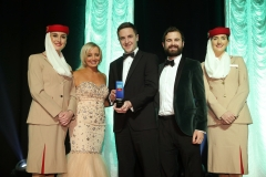 Press Eye - Belfast - 7th December 2017 -   UTV Business Eye Awards in association with Emirates at the Belfast Waterfront.  Agri-Food Innovation Award  Photo by Kelvin Boyes / Press Eye