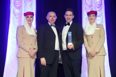 Press Eye - Belfast - 7th December 2017 -   UTV Business Eye Awards in association with Emirates at the Belfast Waterfront.  Young Business Personality of the Year Award  Photo by Kelvin Boyes / Press Eye