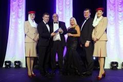 Press Eye - Belfast - 7th December 2017 -   UTV Business Eye Awards in association with Emirates at the Belfast Waterfront.  Lifetime Achievement Award  Photo by Kelvin Boyes / Press Eye