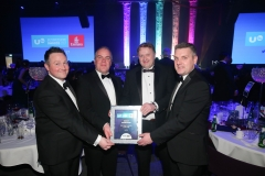 Press Eye - Belfast - 7th December 2017 -   pictured at the UTV Business Eye Awards in association with Emirates at the Belfast Waterfront.  Photo by Kelvin Boyes / Press Eye