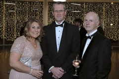 22 November 18, Mandatory Credit ©Press Eye/Darren Kidd    Michelle Emerson, Adrian Moyinhan and Brian Gillan pictured at the Business Eye First Trust Bank Business Awards at the Belfast Waterfront.