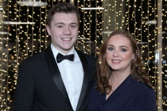 22 November 18, Mandatory Credit ©Press Eye/Darren Kidd    James Joyce and Katie Thompson pictured at the Business Eye First Trust Bank Business Awards at the Belfast Waterfront.
