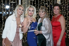 22 November 18, Mandatory Credit ©Press Eye/Darren Kidd    Natash McClean, Sharon Ferguson, Kelly McConnell and Sheri Michael pictured at the Business Eye First Trust Bank Business Awards at the Belfast Waterfront.