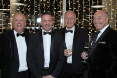 22 November 18, Mandatory Credit ©Press Eye/Darren Kidd    Michael McWilliams, Rob Chowne, Paul Moffett andBill Waring pictured at the Business Eye First Trust Bank Business Awards at the Belfast Waterfront.