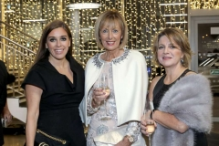 22 November 18, Mandatory Credit ©Press Eye/Darren Kidd    Cathy Martin, Anne McMullan and Mary Jo McCanny pictured at the Business Eye First Trust Bank Business Awards at the Belfast Waterfront.