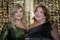 22 November 18, Mandatory Credit ©Press Eye/Darren Kidd    Siobhan Fitzsimons and Tina McKenzie and Deidre Heenan pictured at the Business Eye First Trust Bank Business Awards at the Belfast Waterfront.