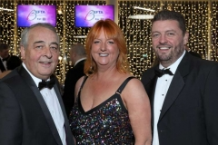 22 November 18, Mandatory Credit ©Press Eye/Darren Kidd    Colin Dundas, Judith Totten and Alan Wardlow pictured at the Business Eye First Trust Bank Business Awards at the Belfast Waterfront.