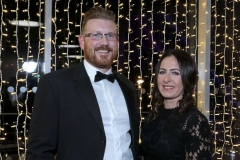 22 November 18, Mandatory Credit ©Press Eye/Darren Kidd    Darren and Tracey Leslie pictured at the Business Eye First Trust Bank Business Awards at the Belfast Waterfront.