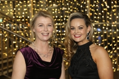 28 November 2019 Photo by Darren Kidd / Press Eye.    AIB Buisness Eye Awards 2019: Pictured are (L-R) Jackie Logan and Laura McElroy