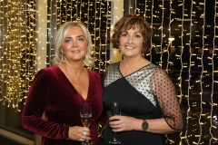 28 November 2019 Photo by Darren Kidd / Press Eye.    AIB Buisness Eye Awards 2019: Pictured are (L-R) Siobhan Matthewson and Catriona O'Donnell.