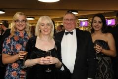 28 November 2019 Photo by Darren Kidd / Press Eye.    AIB Buisness Eye Awards 2019: Pictured are (L-R) . Alyson English, Nuala McCrolly, John Rainey and Molly Cullen.